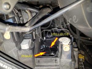 Position ampoule - - Audi A4 B6 - Tuto voiture