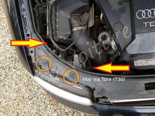 Vis bloc Optique Audi A4 B6 - Tutovoiture