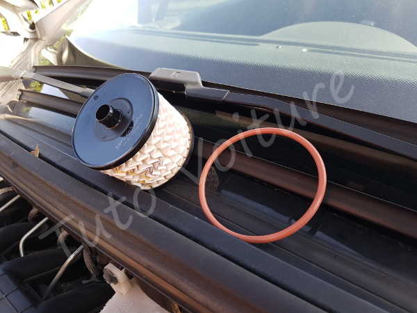 changement filtre gasoil d 39 une peugeot 308 tutoriel simple pour votre voiture. Black Bedroom Furniture Sets. Home Design Ideas