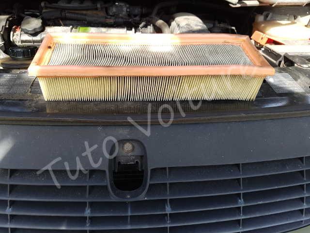filtre air renault espace comment le changer tuto voiture. Black Bedroom Furniture Sets. Home Design Ideas
