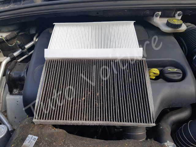 Comparaison filtre à pollen - Peugeot 308 - Tuto voiture