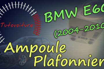 Miniature ampoule plafonnier BMW E60
