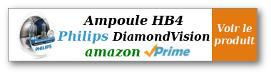 Lien affilié amazon - Ampoule Philips HB4 DiamondVision