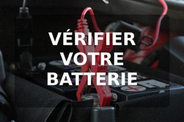 Pince voiture sur batterie
