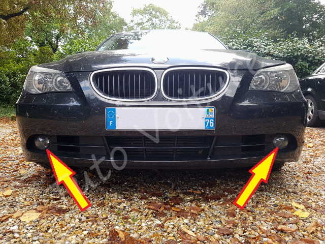 Feux anti-brouillard - BMW série 5 E60 - Tuto voiture