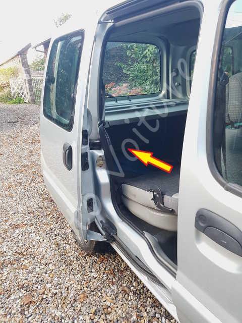 coffre bloqu renault kangoo comment l 39 ouvrir manuellement tuto voiture. Black Bedroom Furniture Sets. Home Design Ideas