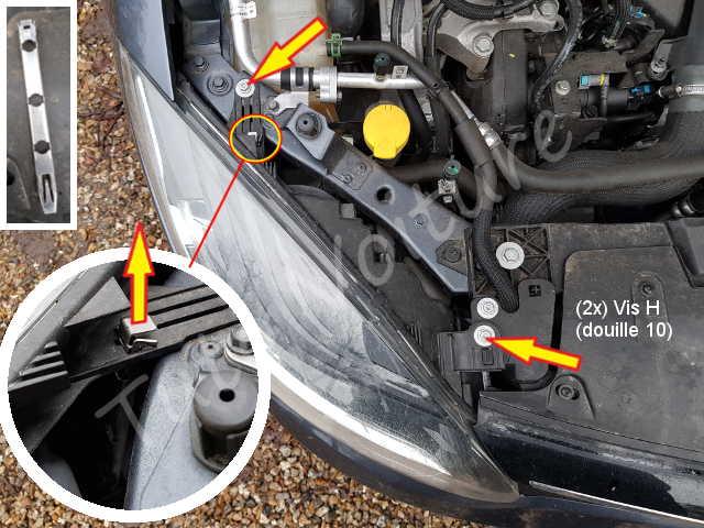 MeganeComment Tuto Les Voiture Changer Renault D'une Ampoules Avant fv7yIb6gY