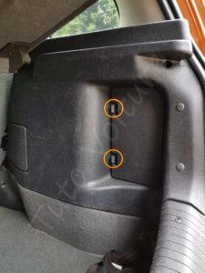 Trappe du coffre - Opel Corsa B - Tutovoiture