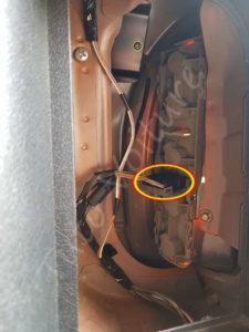 Connectique optique arrière - Opel Corsa B - Tutovoiture