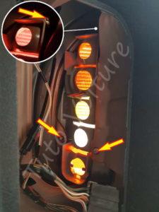 Vis optique arrière - Opel Corsa B - Tutovoiture