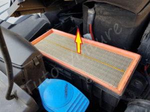 Retirer le filtre à air - Volkswagen Tiguan phase 1 - Tutovoiture