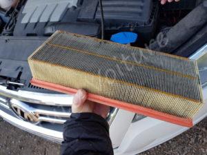 Remplacer votre filtre à air - Volkswagen Tiguan phase 1 - Tutovoiture