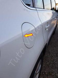 Problème trappe à essence d'une Volkswagen Tiguan : - Tuto ...