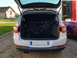Vis du feux arrière - Trappe coffre Volkswagen Tiguan - Tutovoiture