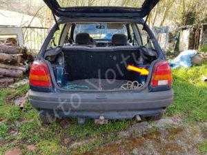 Accès aux ampoules arrière - Ford Fiesta 3 - Tuto voiture