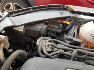 Compartiment feu de croisement - Volkswagen Tiguan - Tutovoiture