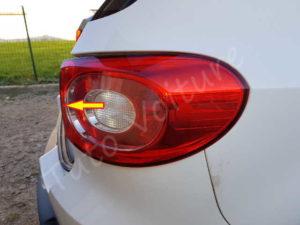 Retirer l'optique arrière - Volkswagen Tiguan -Tutovoiture