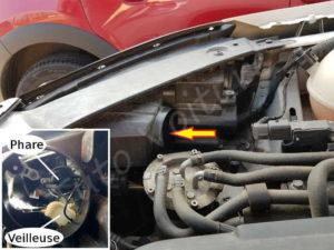 Trouver l'ampoule de phare et veilleuse phare & veilleuse - Volkswagen Tiguan - Tutovoiture