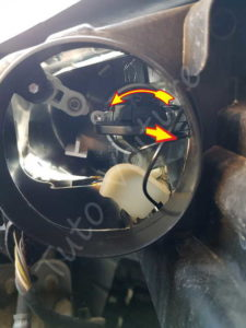 Remplacer ampoule de phare phare & veilleuse - Volkswagen Tiguan - Tutovoiture