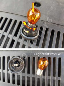Changer l'ampoule clignotant - Volkswagen Tiguan - Tutovoiture