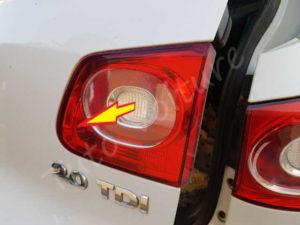 Retirer le feu arrière - Volkswagen Tiguan - Tutovoiture