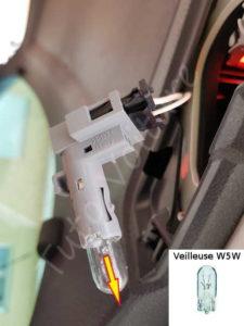 Feu de position w5w - Volkswagen Tiguan - Tutovoiture