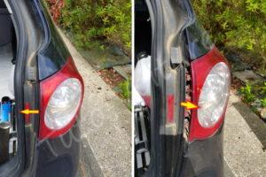 Cache optique arrière éclairage - Volkswagen Passat B6 - Tutovoiture
