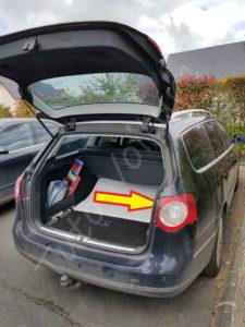 accés bloc arrière éclairage - Volkswagen Passat B6 - Tutovoiture