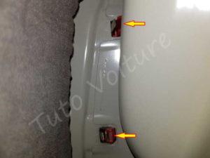 Agrafes bloc arrière éclairage - Volkswagen Passat B6 - Tutovoiture