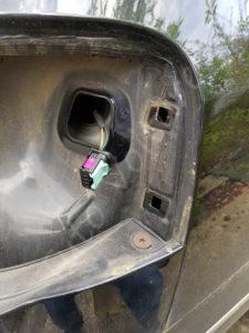 Vue sans bloc arrière éclairage - Volkswagen Passat B6 - Tutovoiture