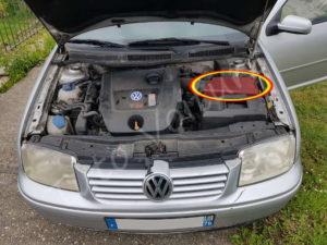 Emplacement du filtre à air - Volkswagen Bora - Tutovoiture