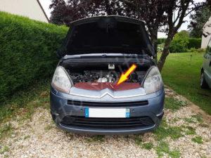 Cache calandre - Citroën C4 Picasso - Tutovoiture
