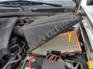 Retirer le filtre à air - Volkswagen Bora - Tutovoiture