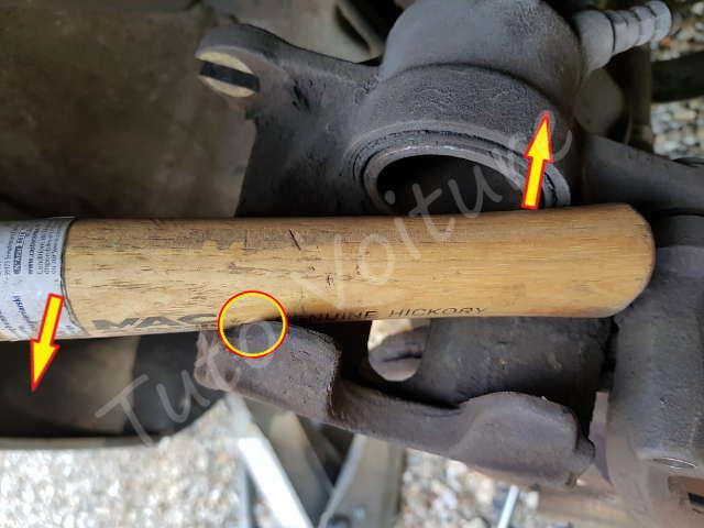 Pousser le piston de l'étrier de frein - Renault Kangoo - Tutovoiture