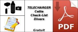 Check-List divers voyage