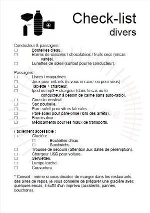 check-list-divers