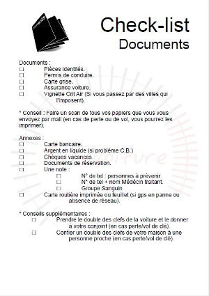 check-list-document