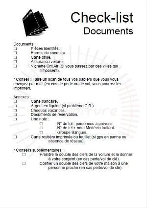check-list-document