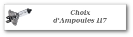 ampoule H7 gammes