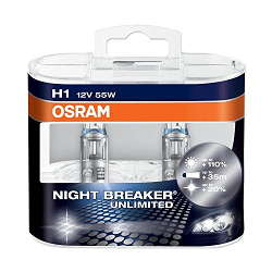 Ampoule H1 Night Breaker Unlimited - Osram