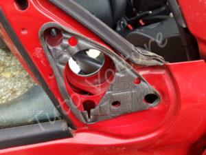 Fixation retroviseur extérieur - Peugeot 206 - Tutovoiture