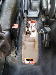 Frein à main sans cache - Peugeot 206cc - Tuto voiture