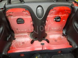 Sièges arrière enlever - Peugeot 206 CC - Tutovoiture