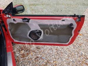 Vue de la porte sans la garniture - Peugeot 206 - Tutovoiture