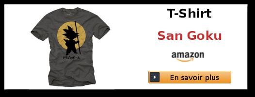 Lien affilié amazon - T-Shirt Sangokou