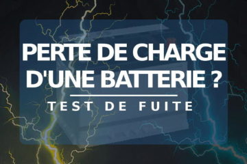 Article perte de charge batterie