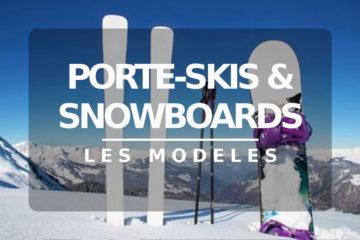 Modèles de porte ski
