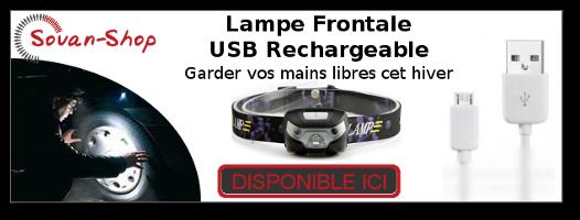Souan-Shop - Lampe Frontale
