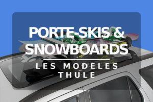Les modèles de porte-Skis - Tutovoiture