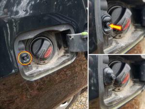 Dépannage trappe essence BMW E60 - Tutovoiture